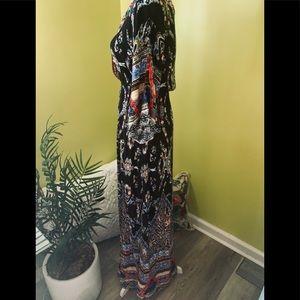 Flying Tomato Dresses - Flying Tomoto v neck beautiful design dress